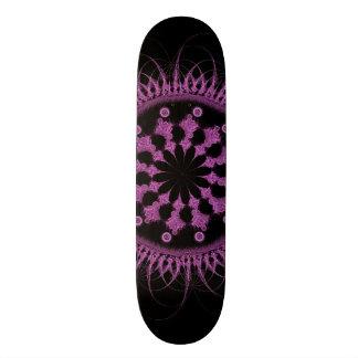 Abstract mandala wheel skate decks