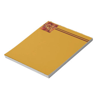 Abstract Maple Leaf Notepad
