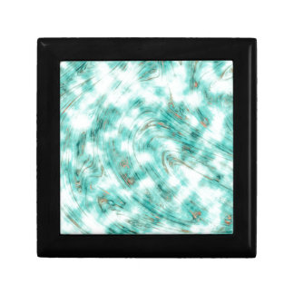 Abstract marble blue gift boxes