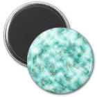 Abstract marble blue magnet