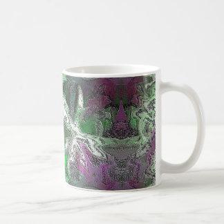 Abstract Marbled Coffee Mug