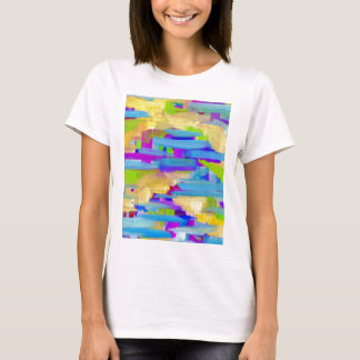 Abstract Marsh T-Shirt