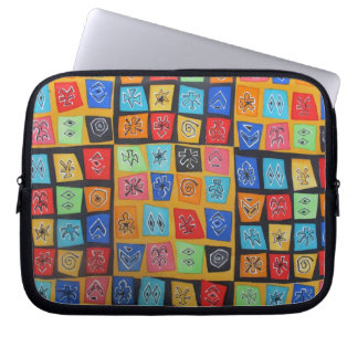Abstract Matisse inspired Electronic Case Laptop Computer Sleeves