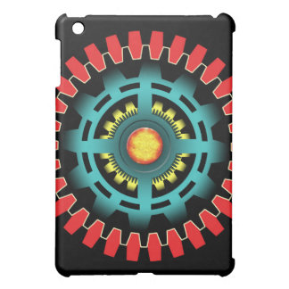 Abstract mechanical object iPad mini cases