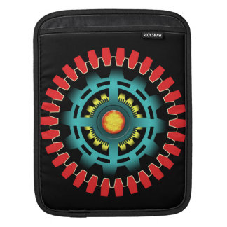 Abstract mechanical object iPad sleeve