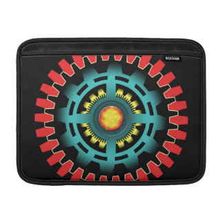 Abstract mechanical object sleeve for MacBook air