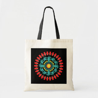 Abstract mechanical object tote bag