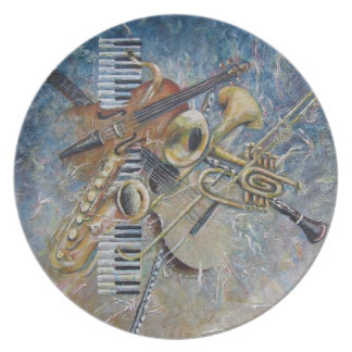 Abstract Melody plate