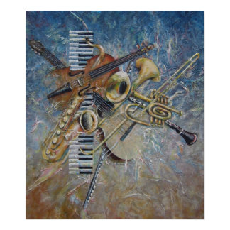 Abstract Melody print