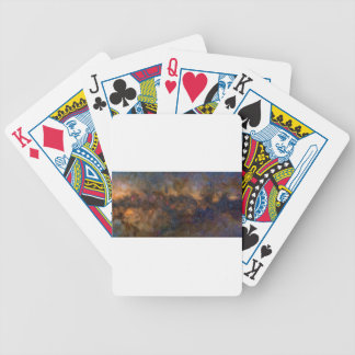 Abstract Milkyway Galaxy with cosmic cloud 3 Bicycle Playing Cards