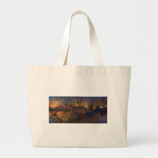 Abstract Milkyway Galaxy with cosmic cloud 3 Large Tote Bag