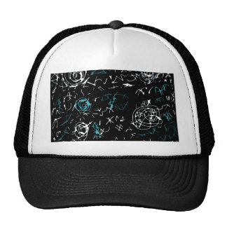 Abstract mind - blue trucker hat