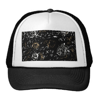 Abstract mind - brown trucker hat