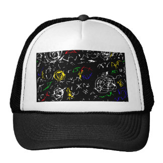 Abstract mind - colorful trucker hat