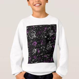 Abstract mind - magenta sweatshirt