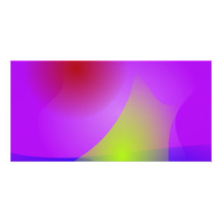 Abstract Mind Personalized Photo Card
