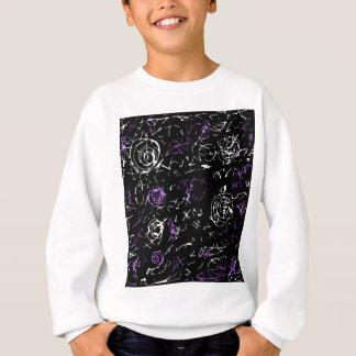 Abstract mind - purple sweatshirt