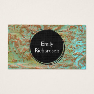 Abstract Mixed Media Art Business Card
