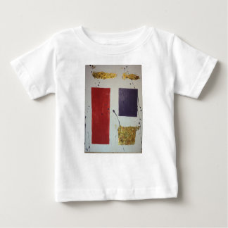 "Abstract Mixed Media Original ""Cosmetic"" Baby T-Shirt"