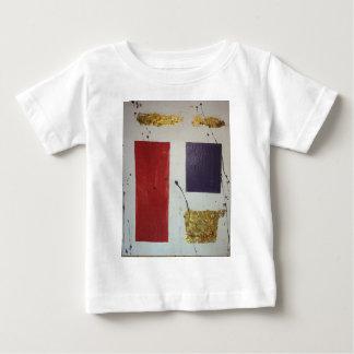 "Abstract Mixed Media Original ""Cosmetic"" Baby T-Shirt"