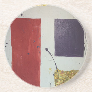 "Abstract Mixed Media Original ""Cosmetic"" Coaster"