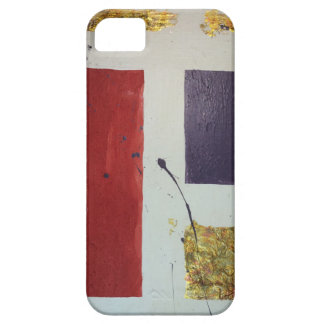 """Abstract Mixed Media Original """"Cosmetic"""" iPhone 5 Case"""