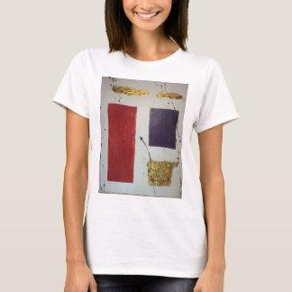 """Abstract Mixed Media Original """"Cosmetic"""" T-Shirt"""