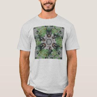 Abstract Mixed media T-Shirt