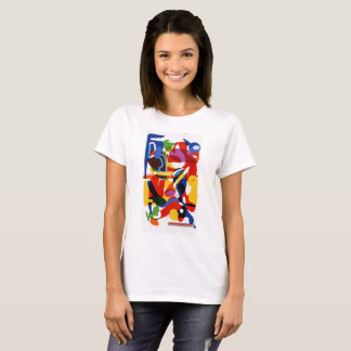 Abstract Mod Design by Katie T-Shirt