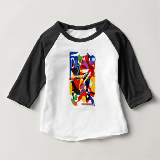 Abstract Mod World Baby T-Shirt