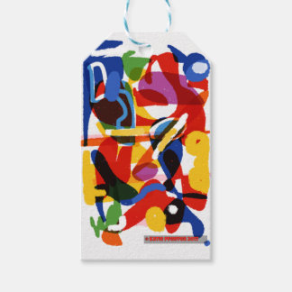 Abstract Mod World Gift Tags