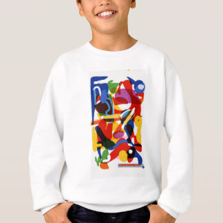 Abstract Mod World Sweatshirt