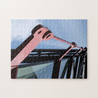 Abstract modern architecture jigsaw puzzle