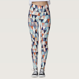Abstract modern background leggings