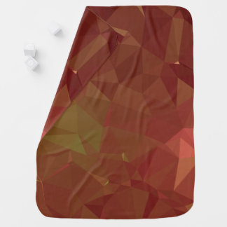 Abstract & Modern Geo Designs - Autumn Leaves Baby Blanket