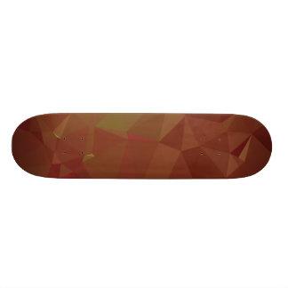 Abstract & Modern Geo Designs - Autumn Leaves Skate Decks