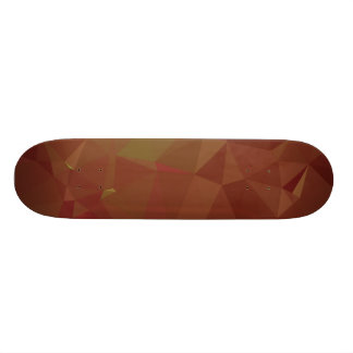 Abstract & Modern Geo Designs - Autumn Leaves Skateboard Deck