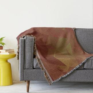Abstract & Modern Geo Designs - Autumn Leaves Throw Blanket