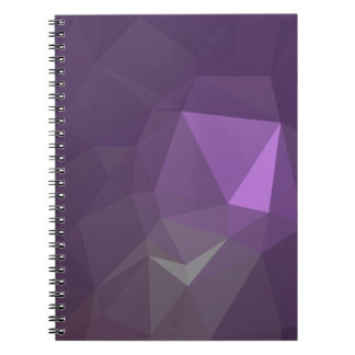 Abstract & Modern Geo Designs - Cosmic Grace Notebook