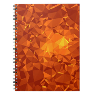 Abstract & Modern Geo Designs - Fierce Courage Notebook