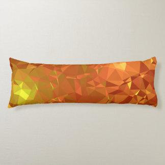 Abstract & Modern Geo Designs - Mandarin Gem Body Pillow