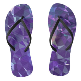 Abstract & Modern Geo Designs - Robo Energy Flip Flops
