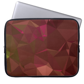 Abstract & Modern Geo Designs - Temple Wood Laptop Sleeve