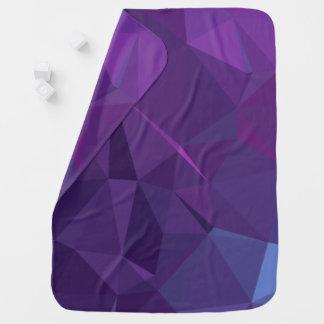 Abstract & Modern Geo Designs - Titan Storm Baby Blanket