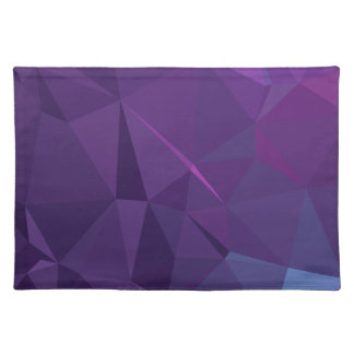 Abstract & Modern Geo Designs - Titan Storm Placemat