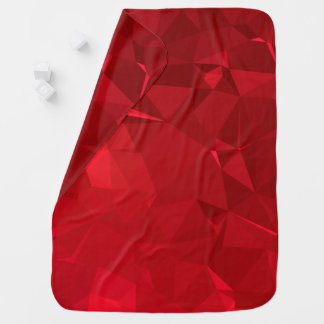 Abstract & Modern Geo Designs - Venetian Jewel Baby Blanket