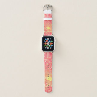 Abstract & Modern Geometric Designs - Comet Trail Apple Watch Band