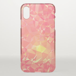 Abstract & Modern Geometric Designs - Comet Trail iPhone X Case