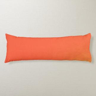 Abstract & Modern Geometric Designs - Fiery Center Body Pillow