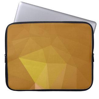 Abstract & Modern Geometric Designs - Happy Nutmeg Laptop Sleeve
